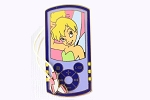Tinker Bell iPod Player Pin