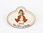 Dale Name Tag Badge Pin