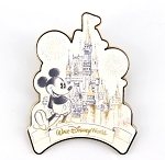 Mickey on Main Street Cinderella Castle Sketch