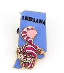 Indiana State Character Cheshire Cat