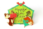 Chip and Dale New Years Japan Jumbo
