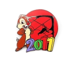 Dale at Soarin Epcot 2011 Dated Disney Pin