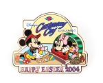 (AP) Mickey and Minnie Easter DCL Castaway Cay