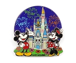 Cast Exclusive Cinderella Castle New Year's WDW