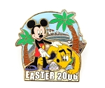 DCL Mickey and Pluto Easter LE 750