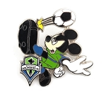 Mickey Soccer Teams Seattle Sounders FC Sports