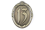 Completer 13 Reflections of Evil Gold Mirror Pin