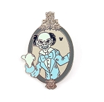 Ezra Portrait Hitchhiking Ghost Hidden Mickey Haunted Mansion