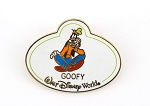 Goofy Nametag ID Tag Pin