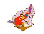 Paris Aladdin Iago and Magic Lamp Alphabet Letter