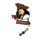 Pirate Jack Sparrow Bead Dangle White Glove