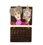 Lady Tremaine Villain Calendar August 2006 Dangle