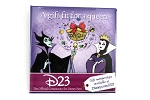 Villain Maleficent D23 Evil Queen Holiday Button