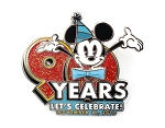 Mickey Mouse 90th Birthday Bowtie Spinner LR