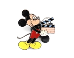 Vintage Mickey with Clapboard