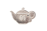 Mickey Tea Pot Silver Chaser Kitchen Items
