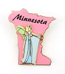 Minnesota State Character Blue Fairy Pinocchio