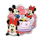 (AP) Minnie and Mickey Tea Cup Ride Dreams Come True