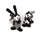 Oswald and Girlfriend Ortensia 2 pin set
