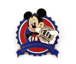 Rare Mickey 10 Years of Trading 3D Pin LE 500
