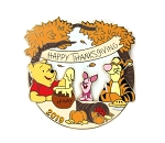 Thanksgiving Winnie the Pooh and Friends 2019