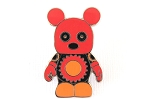 Red Gears Chaser Vinylmation Pin