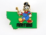 Montana State Character Scrooge McDuck