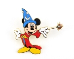 Sorcerer Mickey with Wand Up Paris