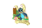 Stitch Easter Bunny with 3D Egg Basket