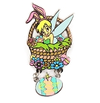 (AP) Tinker Bell in Easter Basket Egg Dangle
