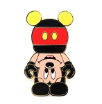 Upside Down Mickey Vinylmation Pin